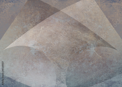 Scratched metal background with arrow shape © steve ball