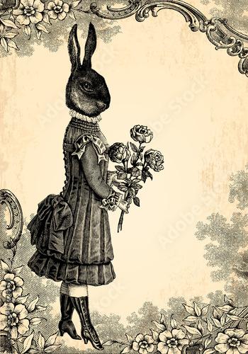 Obrazy na płótnie Canvas L'enfant lapin