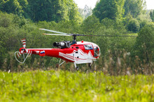 Helicopter (Sud Aviation SA316...