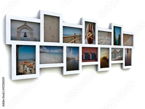 Fototapeta Urlaubsfotos obraz na płótnie