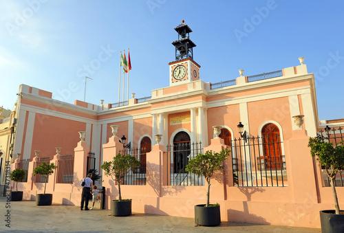 Ayuntamiento de Puerto Real, Cádiz Canvas Print