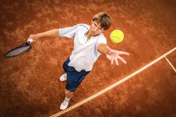 Fototapeta tennis player