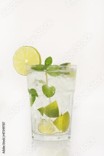 Poster Eclaboussures d eau Mojito