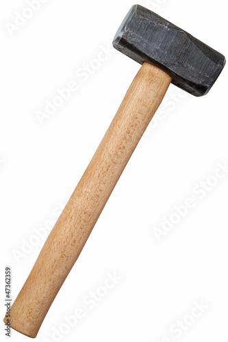 Metal sledge hammer Tableau sur Toile