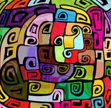 Colorful modern design