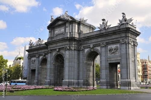 Staande foto Madrid Puerta de Alcala, Madrid