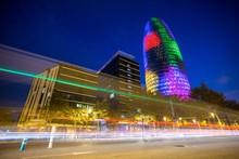 BARCELONA - NOVEMBER 24: Torre...