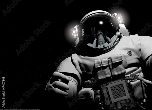 Fotografie, Obraz  The astronaut