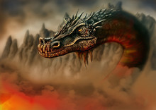 Dragon In The Fire