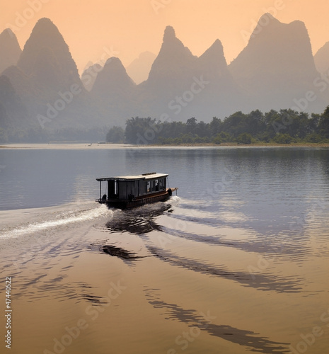 In de dag China Li River - Guilin - China