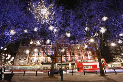 Photo  Christmas Lights Display in London