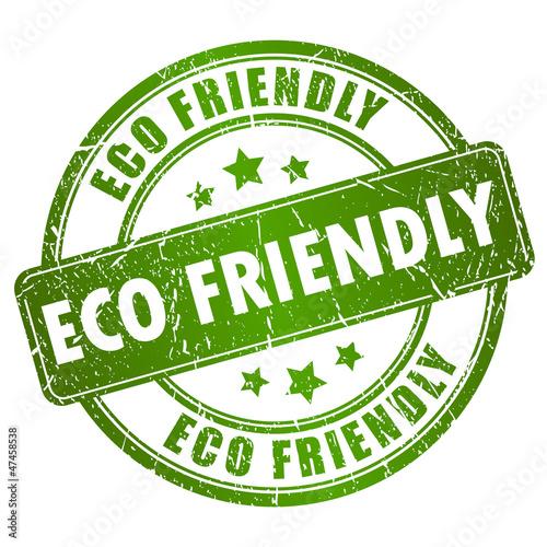 Fotografie, Obraz  Vector eco friendly stamp