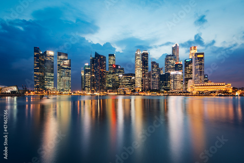 Foto auf Leinwand Singapur Singapour