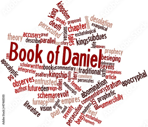 Photo Word cloud for Book of Daniel