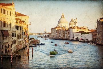 Obraz na SzkleVenice - The Grand Canal