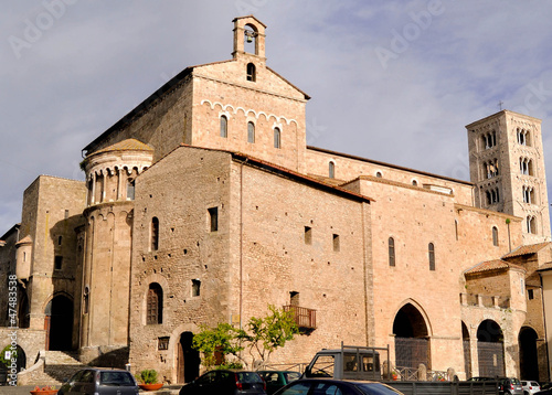 Cattedrale di Anagni (FR), Italy Canvas Print