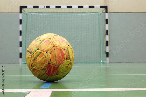 Foto-Schmutzfangmatte - Handballtor (von roostler)