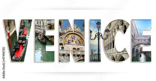 Fototapeta Wenecja-logotyp obraz