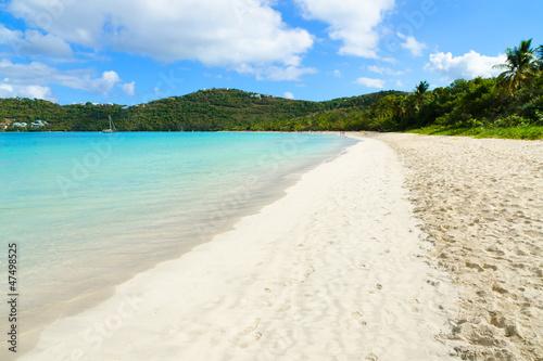 Fotografie, Obraz  Magens Bay beach. St. Thomas, USVI