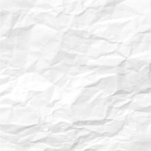 Texture Of Crumpled Paper. Vector