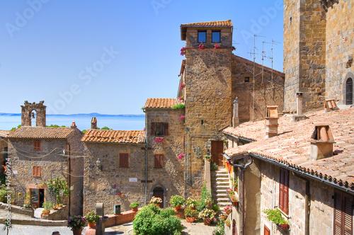 Photo Panoramic view of Bolsena. Lazio. Italy.