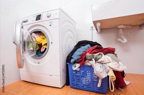 Fotografie, Obraz  Huge laundry