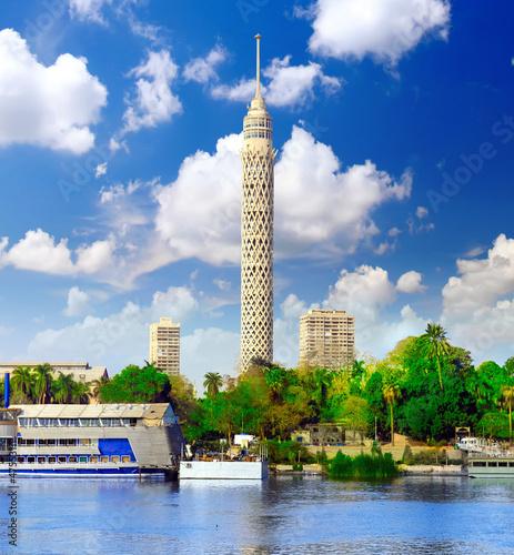 Cairo TV Tower. Egypt.