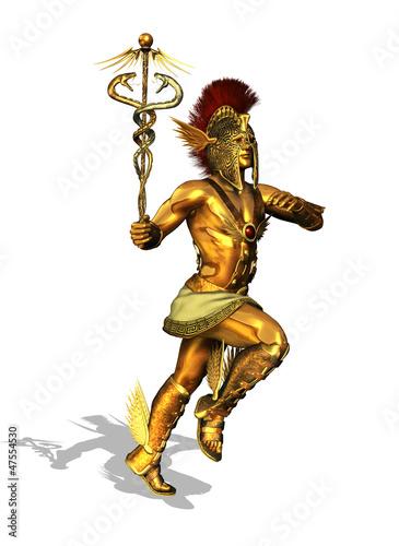 Fotografie, Obraz  Greek God Mercury