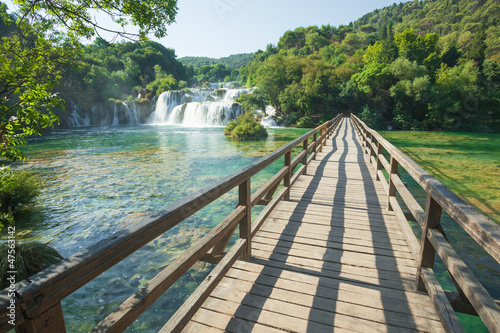 Canvas Prints Pistachio NP Krka
