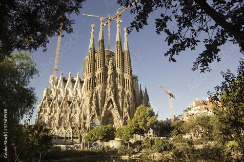 Papiers peints Barcelona Sagrada Familia, Nativity Façade. Barcelona