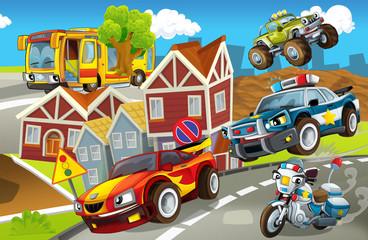 Vozila u gradskom, urbanom kaosu