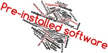 Word Cloud For Pre-installed S...