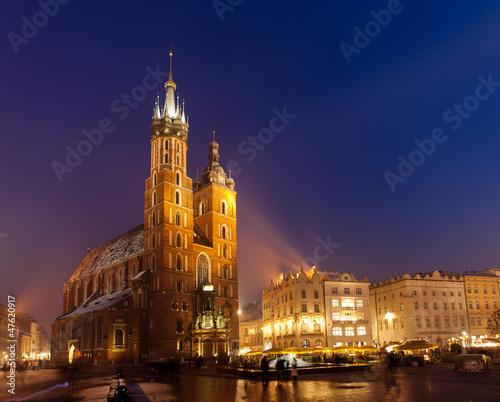 Fototapeta Marienkirche in Krakow obraz