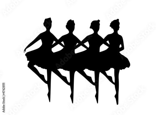 Poster Affiche vintage baletnice