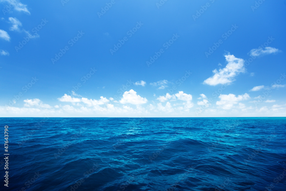 Fototapety, obrazy: perfect sky and water of indian ocean