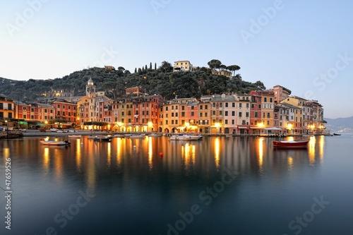 Foto auf Acrylglas Ligurien Portofino