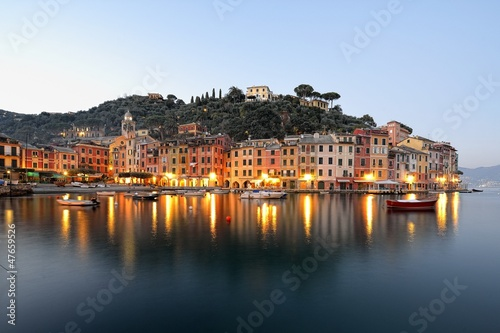 Deurstickers Liguria Portofino