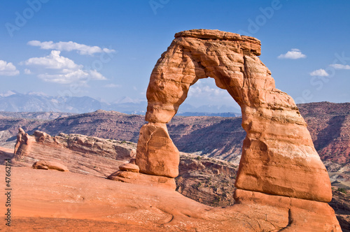 Poster Parc Naturel Delicate Arch - Arches National Park, Utah - USA