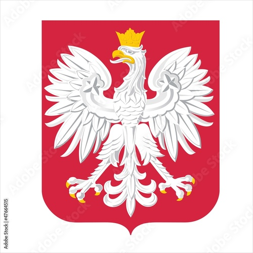 Obraz Official state emblem of Poland - fototapety do salonu