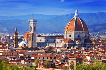 Italy. Florence. Cathedral Maria del Fiore