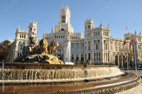 In de dag Madrid Plaza de Cibeles, Madrid