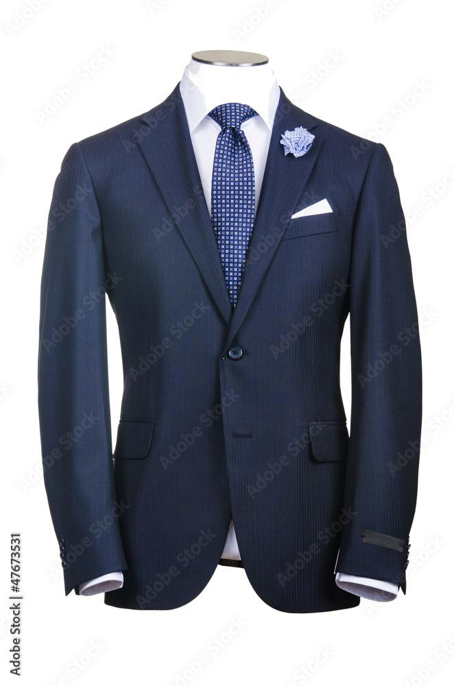 Fototapeta Formal suit in fashion concept