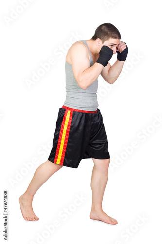 Photo  Young Kickboxer
