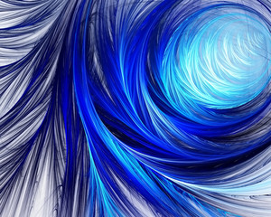 FototapetaColour abstract art background spiral.