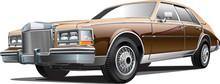 Vintage Luxurious Car
