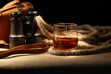 Still Life With Rum