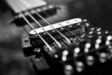 Strings Electric Guitar Closeu...