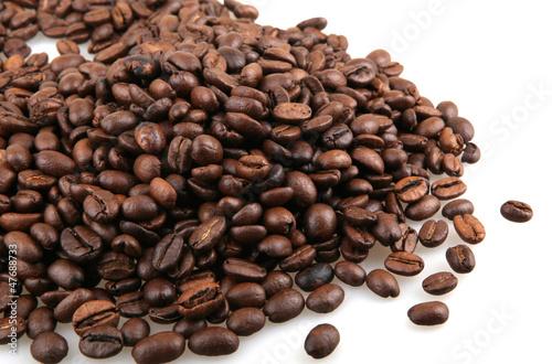 Poster Café en grains coffee bean