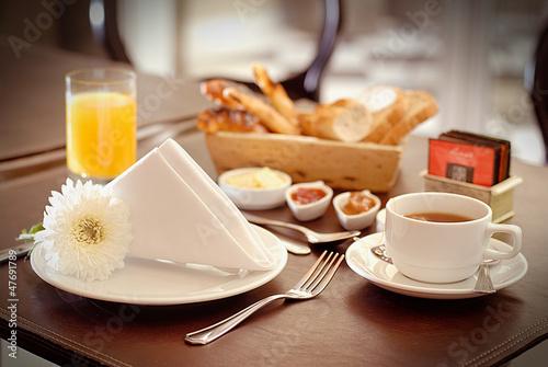 Fotografie, Obraz  desayuno en el hotel 3