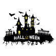happy halloween vector illustration part three